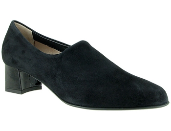 Alex Black Stretch Suede