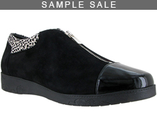 Nelly Black Suede Size 37