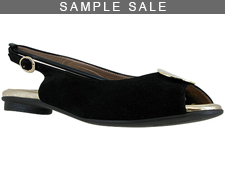 Demi Black Suede/Gold Size 37