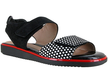 Romi 3D Polka Dots Suede