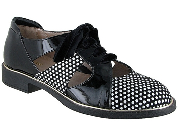 Broadway 3D Polka Dots Suede