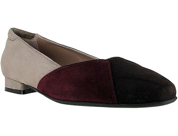 Saoirse Brown Multicolor Suede