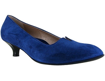 Mystique Midnight Blue Suede