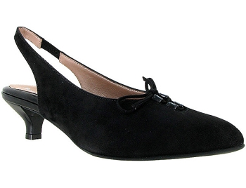 Gilly Black Suede