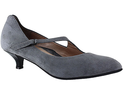Lilou Gray Suede