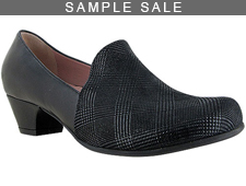 Madison Black Check Print/Leather Size 37
