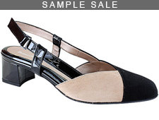 Melody Black/Natural Suede Size 37