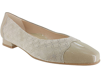 Myla Champagne Circle Art Suede