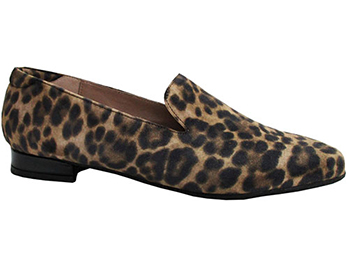Chelsea Leopard Print Suede
