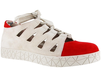 Cava Red/Stone Suede